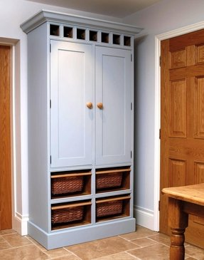 Free Standing Kitchen Pantry Cabinet.Oak Pantry Storage Cabinet For 2020 Ideas On Foter