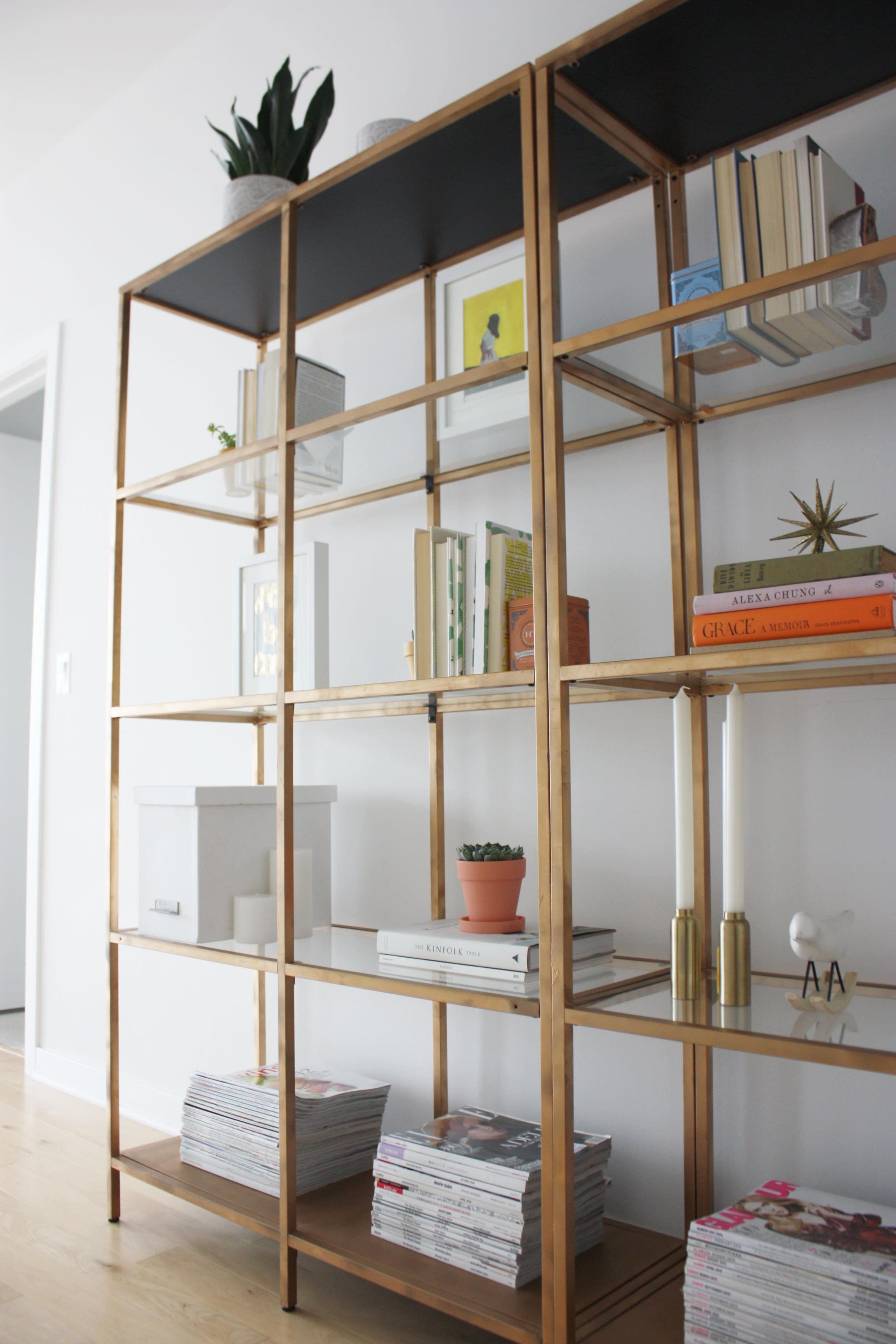 glass shelving units living room foter rh foter com living room shelving units for tv and books living room shelf unit