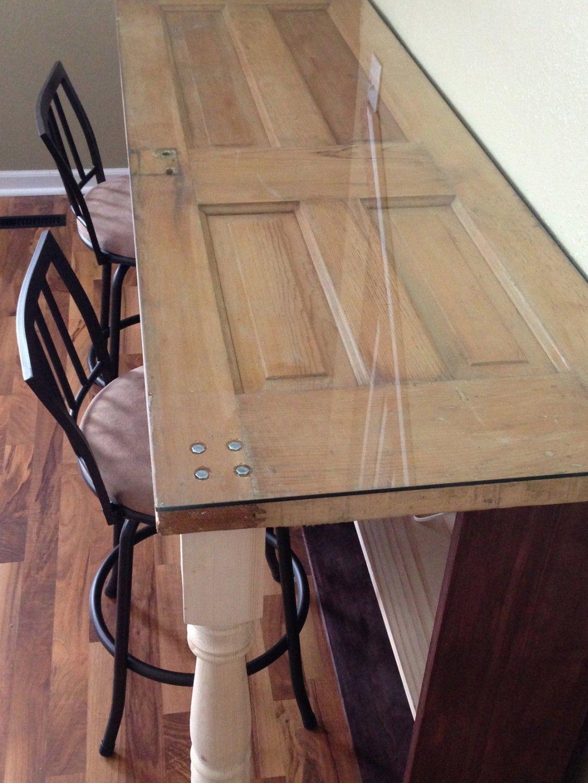 Glass Top Bar Table