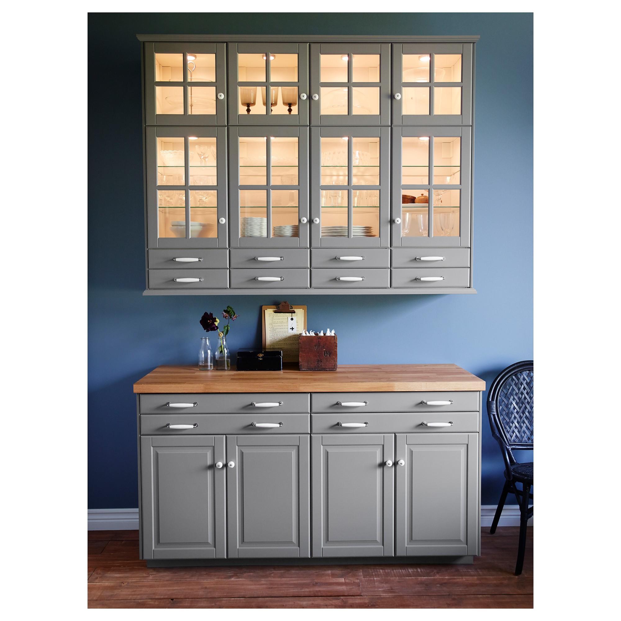 Beau Glass Wall Mounted Cabinets