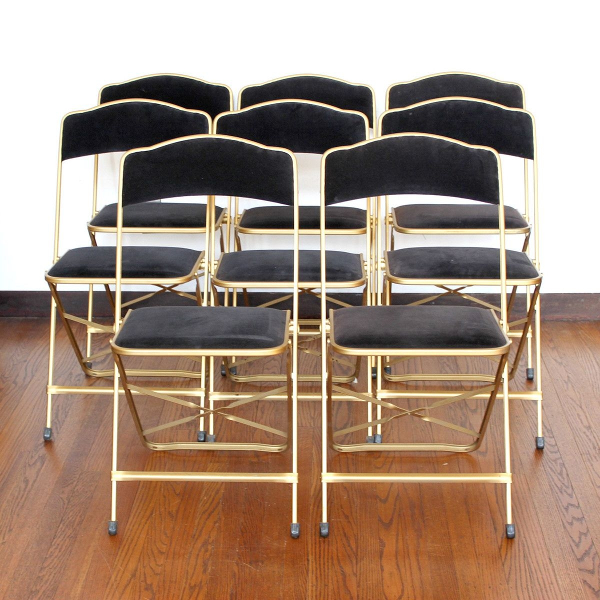 Gold Folding Chairs