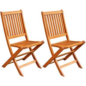 Hardwood folding chairs 1