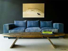 Jeans couch