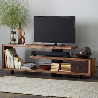 Metal And Wood Tv Stand - Ideas on Foter
