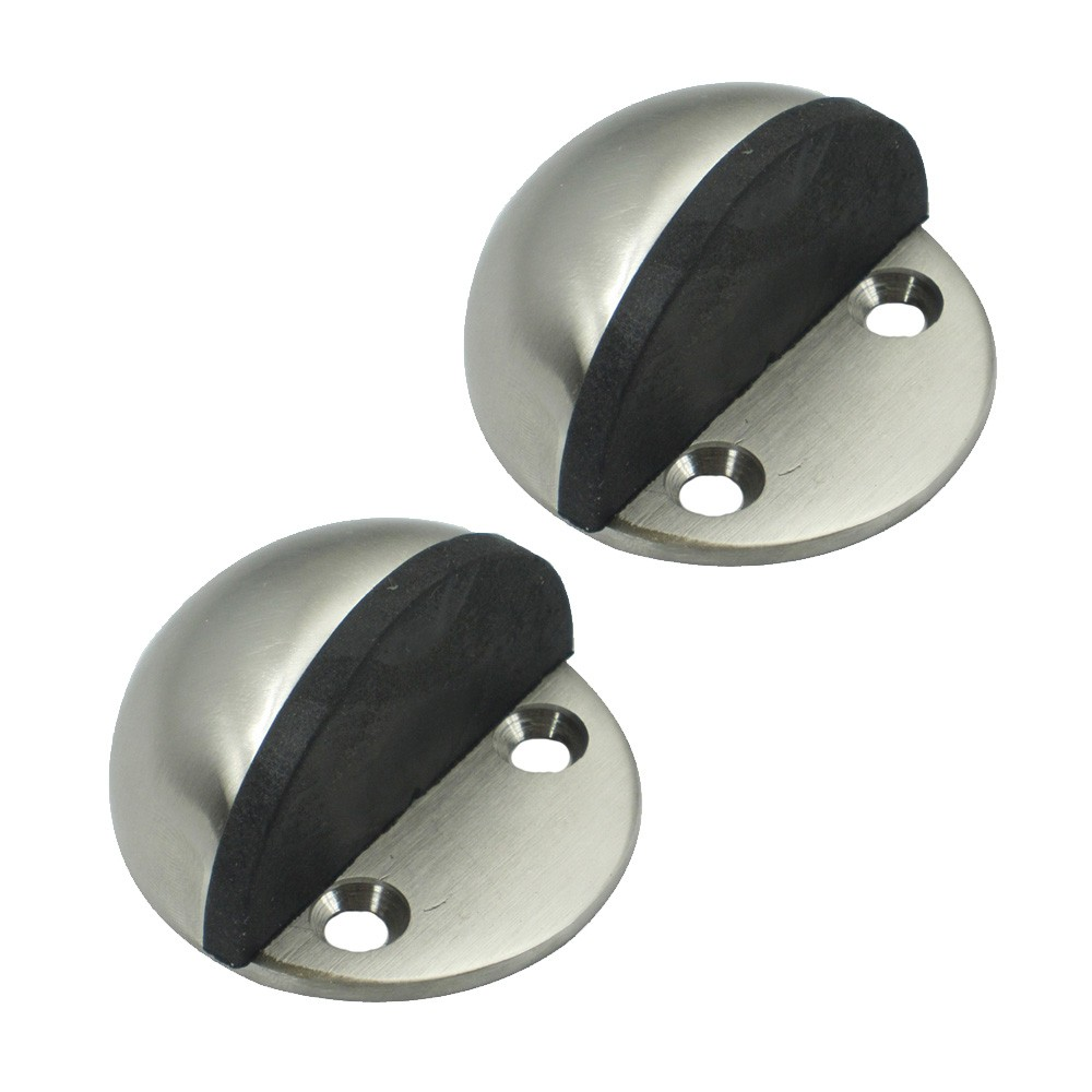 Exceptional KES® HDS201 2 P2 Solid Stainless Steel Floor Door Stopper Stops Screw Mount