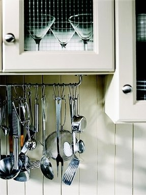 Wall Mounted Utensil Rack Foter