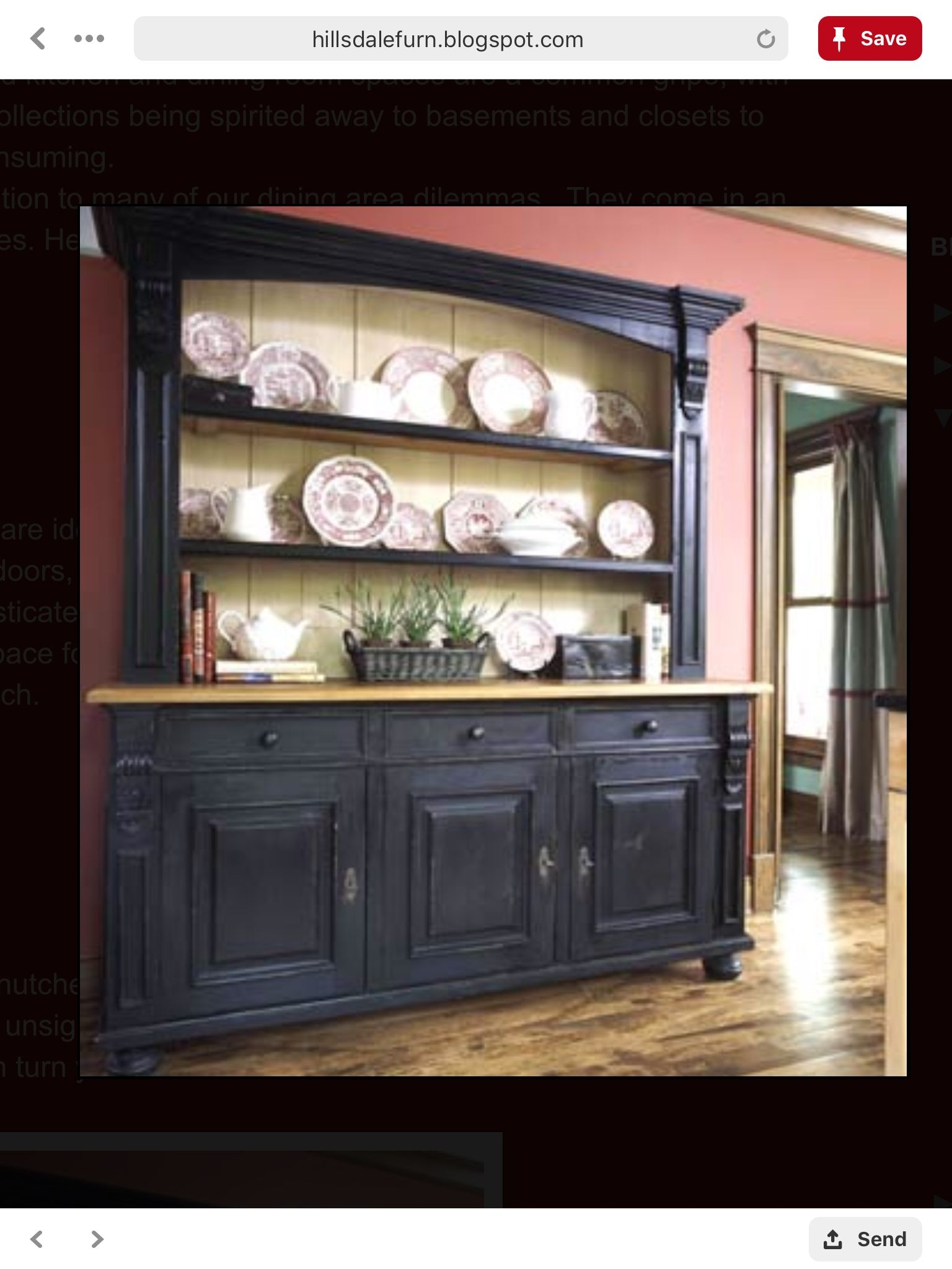 Exceptional Large China Cabinet
