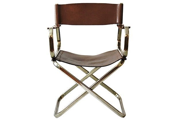 Exceptionnel Leather Director Chair Covers