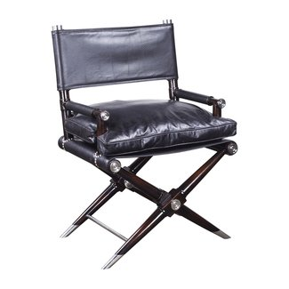 Pleasant Leather Directors Chairs Ideas On Foter Ibusinesslaw Wood Chair Design Ideas Ibusinesslaworg