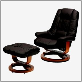 Leather glider rocker recliner