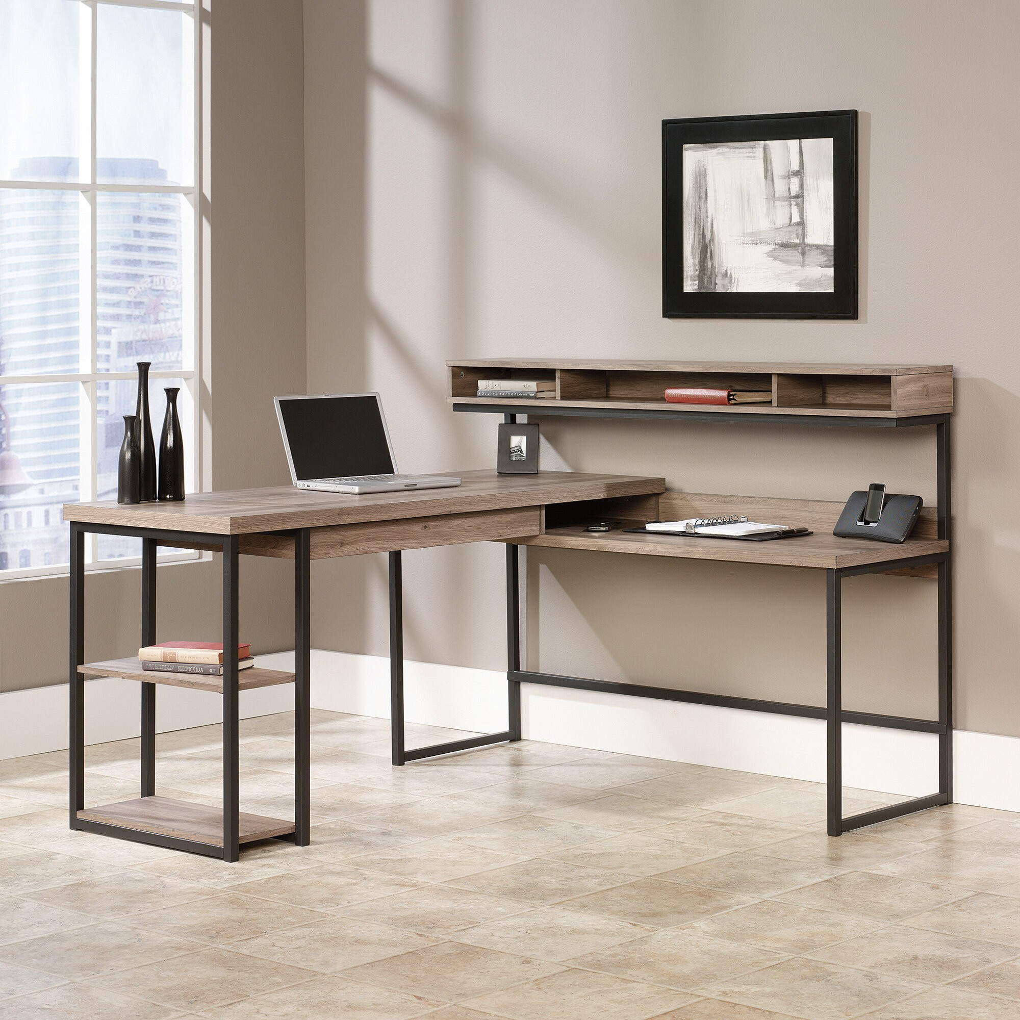 Modern L Shaped Computer Desk