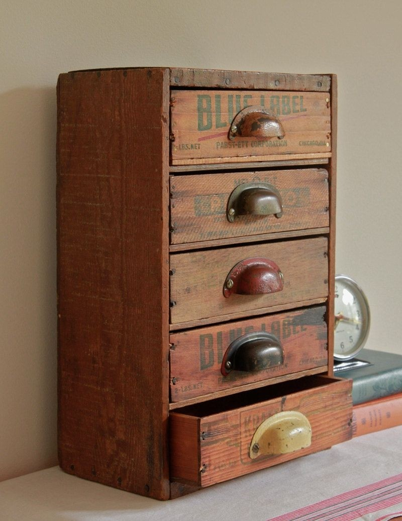 Multi drawer desk organizer from & Wood Storage Cabinet With Drawers - Foter