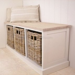 Rattan Storage Benches Ideas On Foter