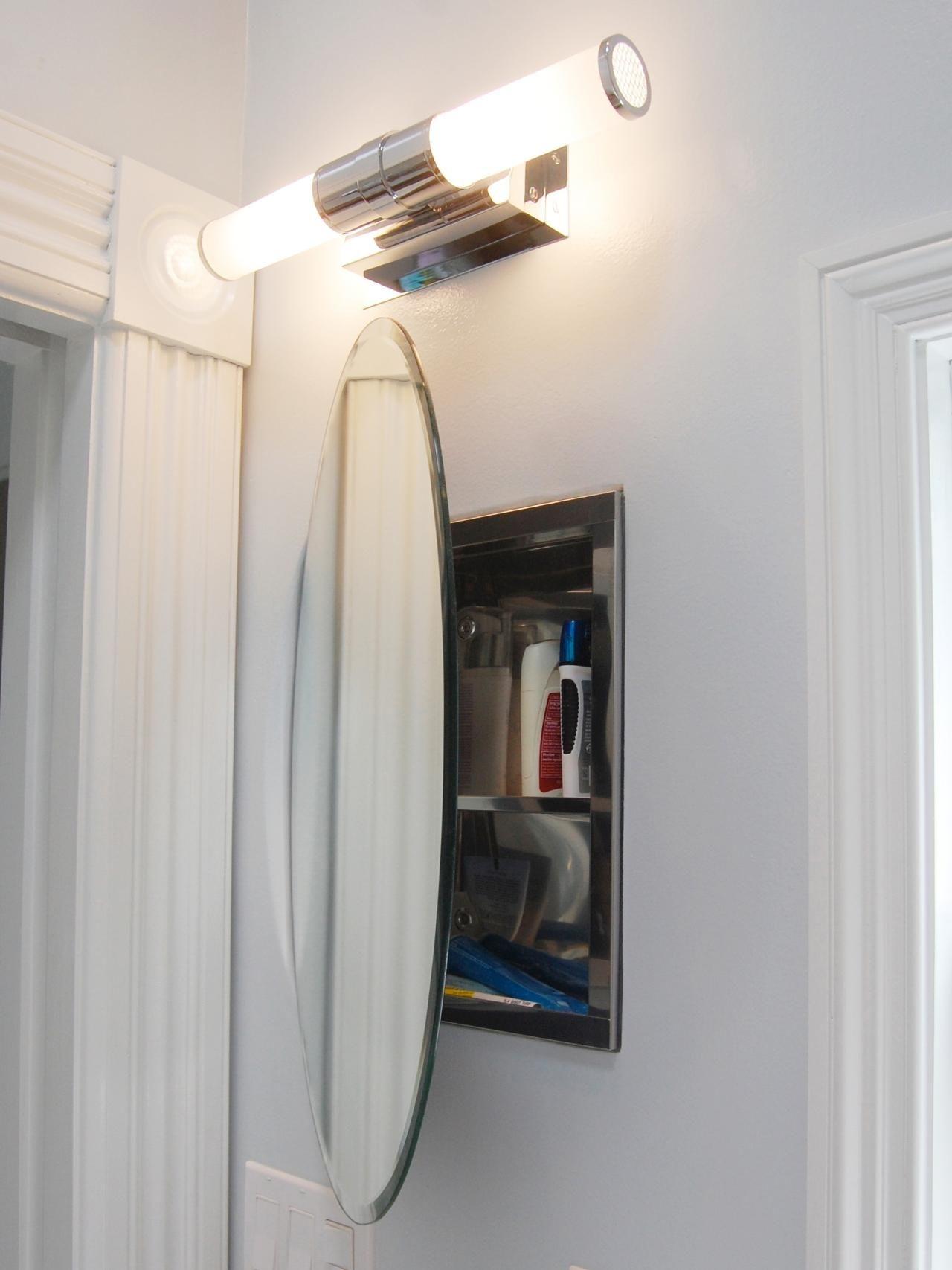 Oval Medicine Cabinet
