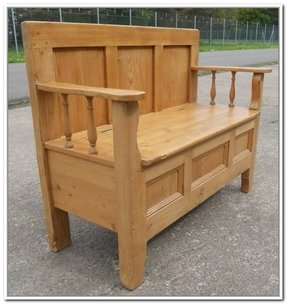 Pine Storage Benches Foter