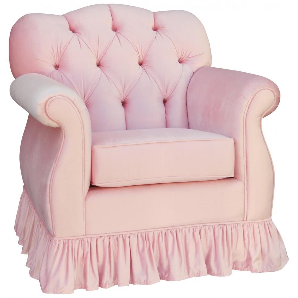 Aspen Tufted Empire Glider In Pink