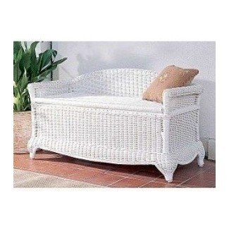 Amazing Rattan Storage Benches Ideas On Foter Machost Co Dining Chair Design Ideas Machostcouk