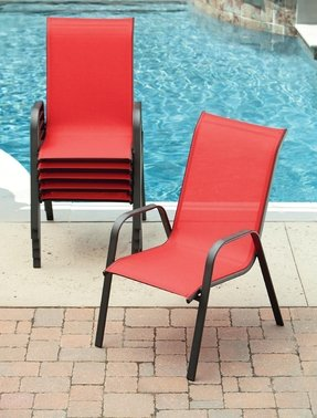 Red Stacking Chairs Foter