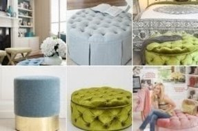 Awesome Round Velvet Ottoman Ideas On Foter Caraccident5 Cool Chair Designs And Ideas Caraccident5Info