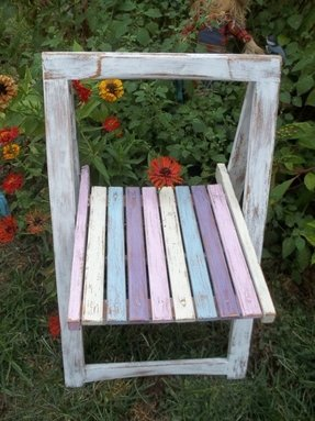 shabby chic folding chairs foter