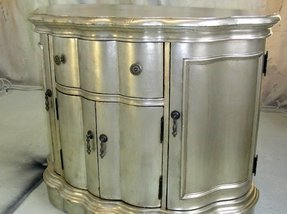 Silver furniture spray paint