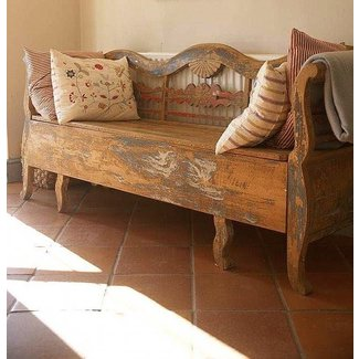 Small antique bench