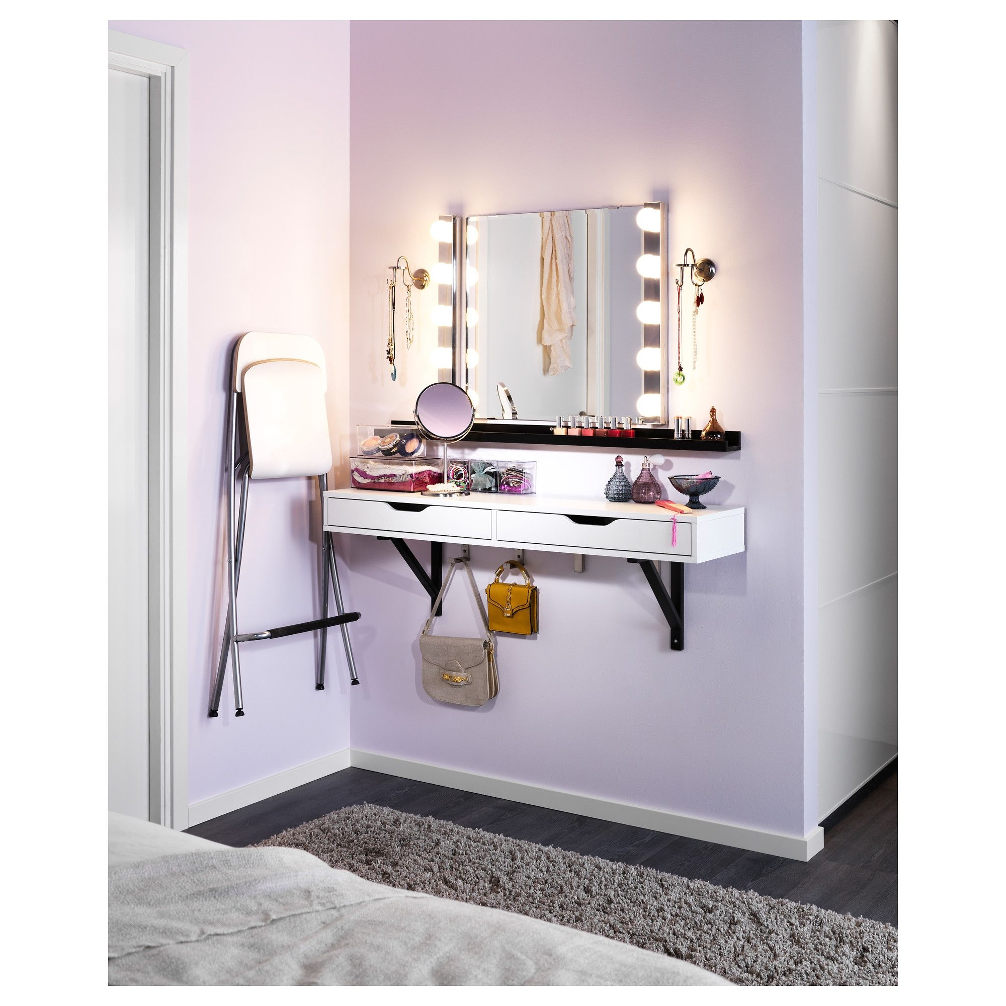 Etonnant Small Vanity Table For Bedroom