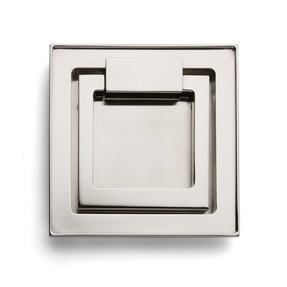 Square cabinet pull