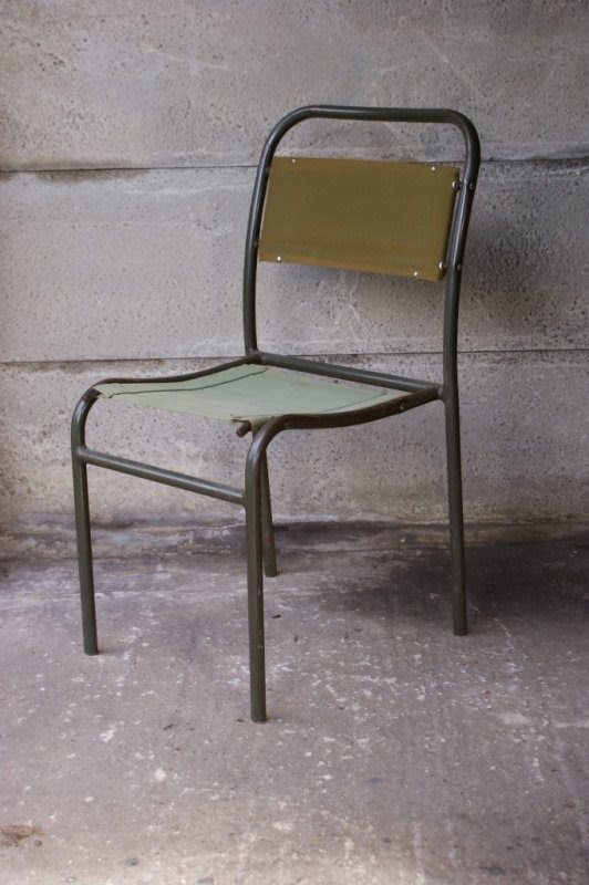 Stackable Metal Chairs