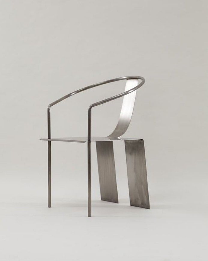Stainless Steel And Wood Furniture