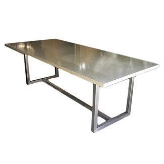 bac0a8f09770 Stainless Steel Top Dining Table - Ideas on Foter