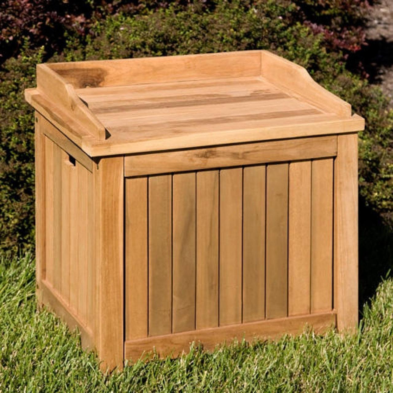 Merveilleux Teak Storage Cabinet Outdoor