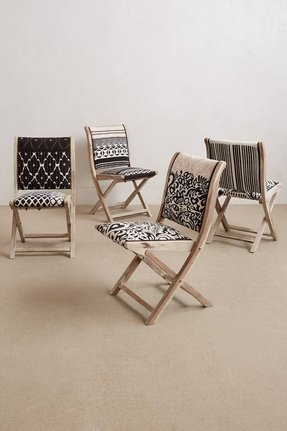 Upholstered folding chairs 4