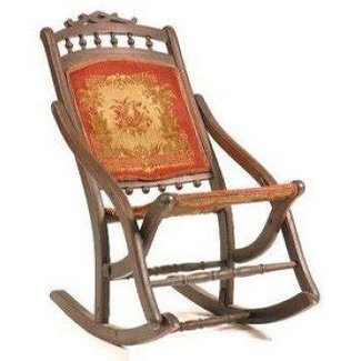 Victorian folding chairs 10