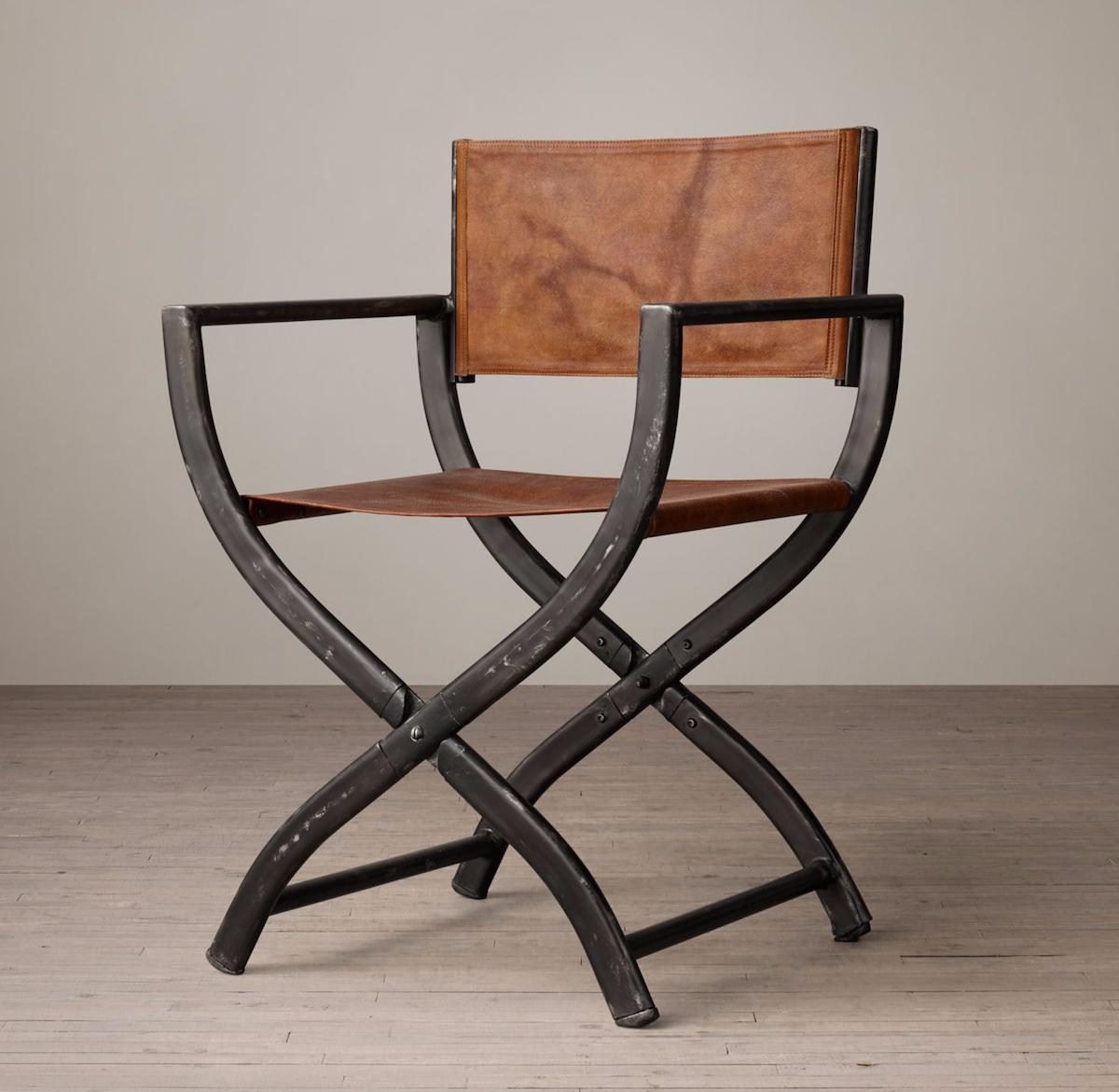 Etonnant Vintage Directors Chair