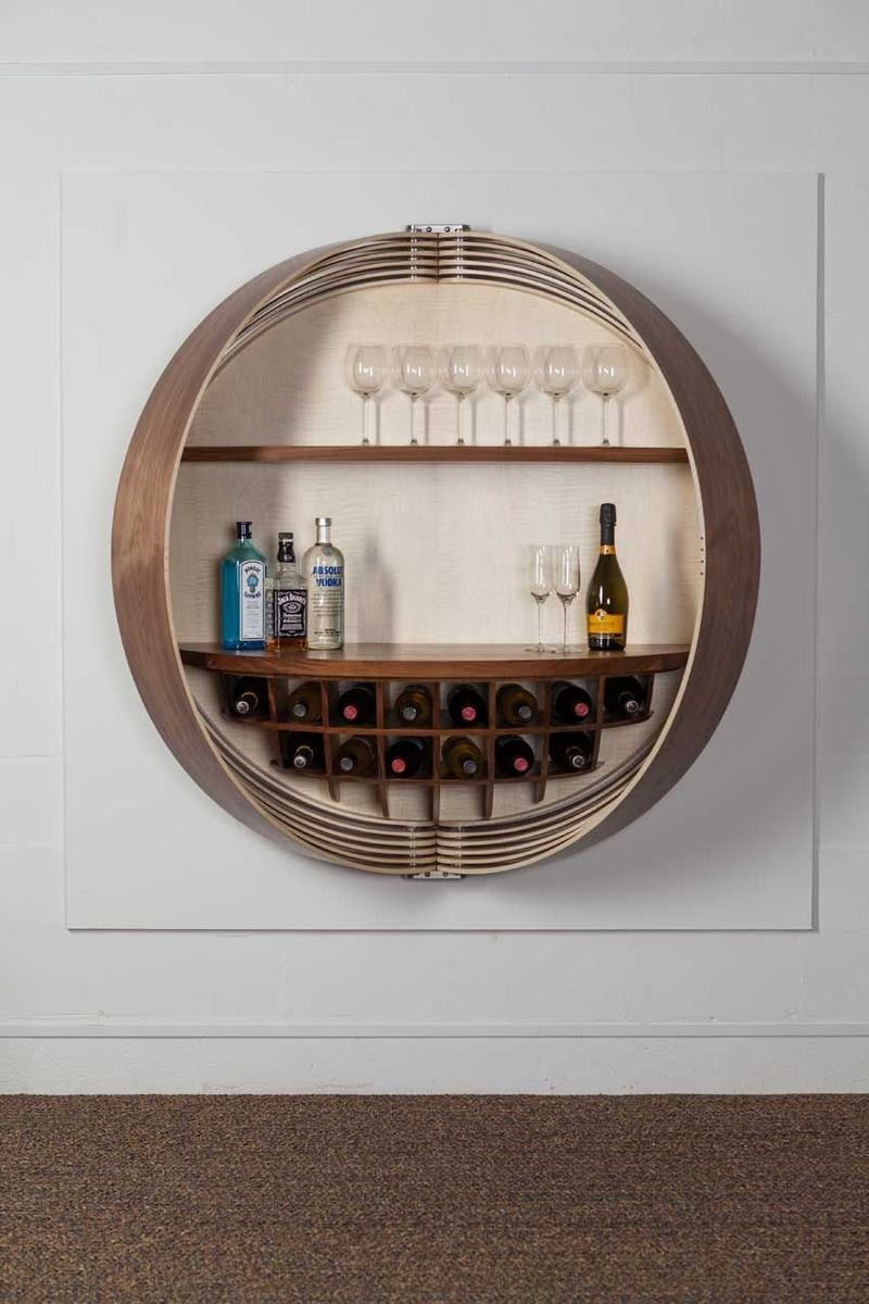 Wall Mounted Storage Cabinets With Glass Doors