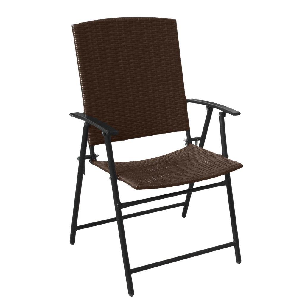 Wicker Folding Chairs 4