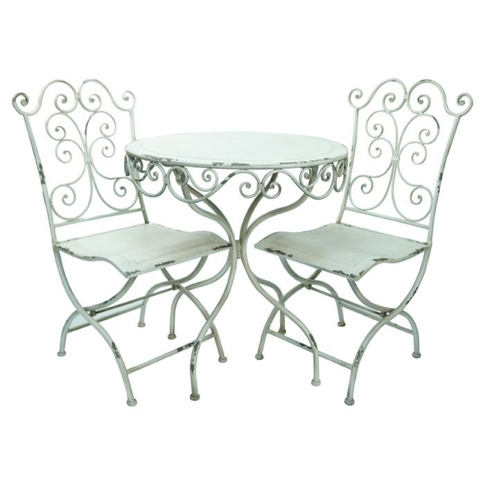 Shabby Chic Folding Chairs