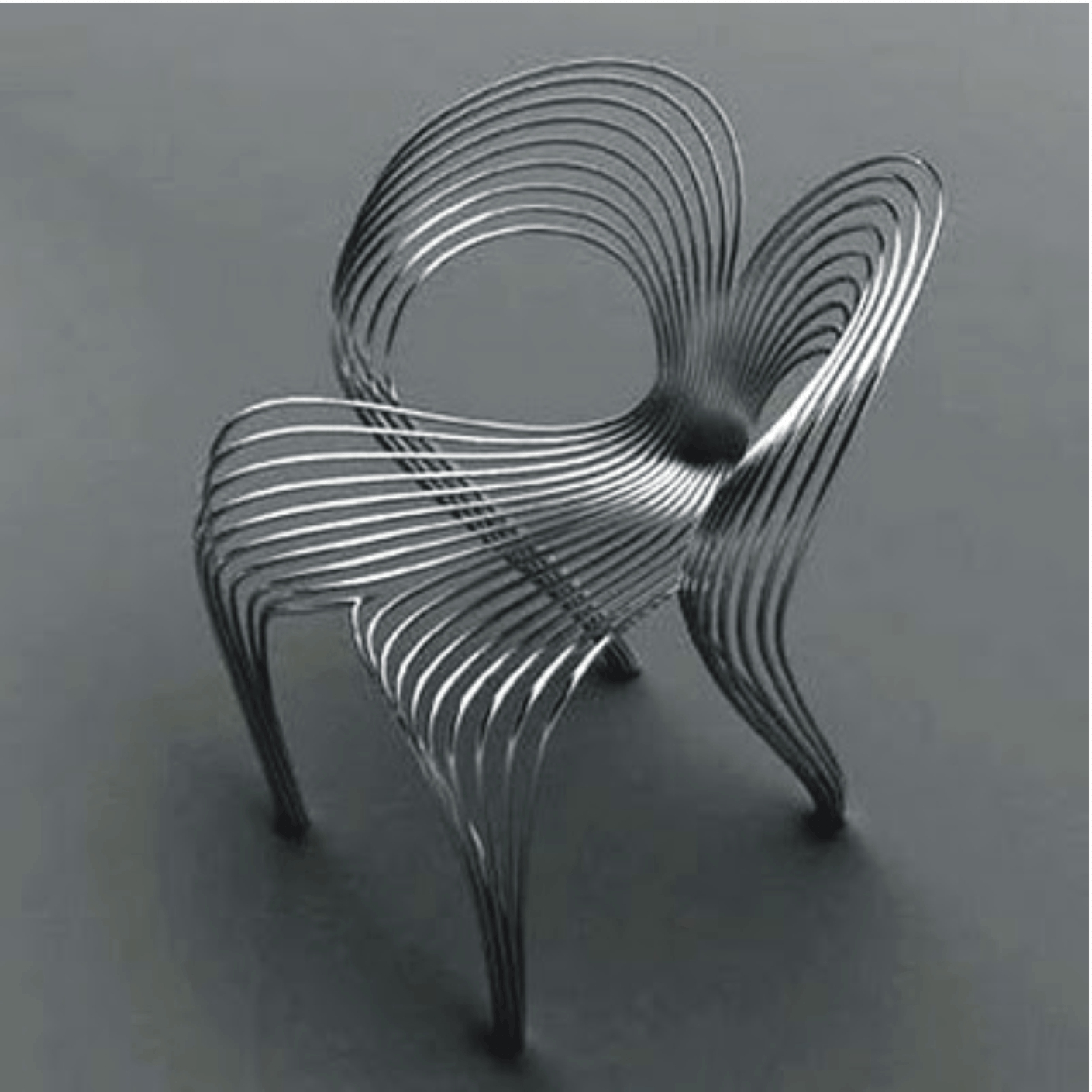 Wood And Stainless Steel Furniture