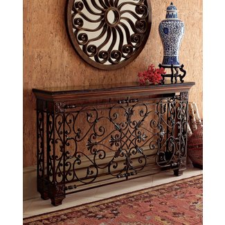 Wrought Iron Foyer Table Ideas On Foter
