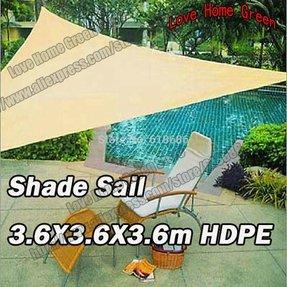 12 X12 Sun Shade Sail Uv Top Outdoor Canopy Patio Lawn