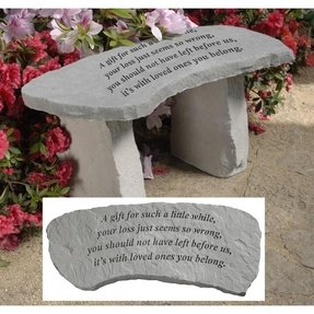 Memorial Garden Benches Foter