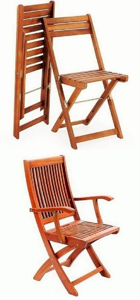 Achla Designs Folding Chair with Arms