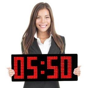 100 Large Digital Wall Clock Ideas On Foter