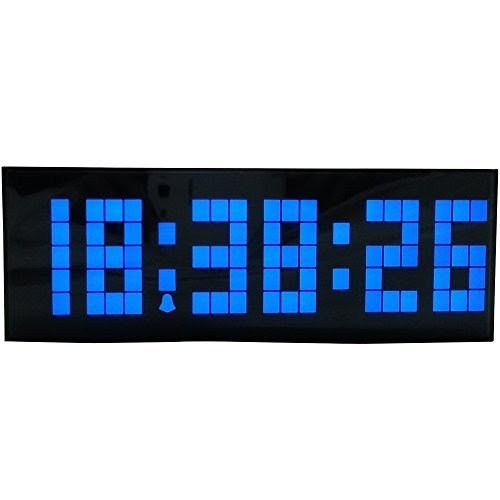 Chihai Led Digital Countdown Snooze Alarm Wall Desk Clock Displays In 12  Hour (Am/