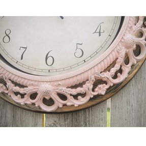 Floral wall clocks