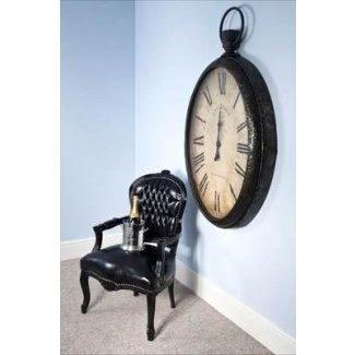 Giant Pocket Watch Wall Clock