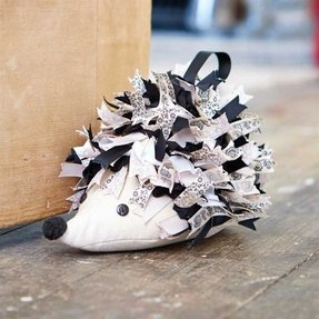 Hedgehog doorstop template creativity issue 48