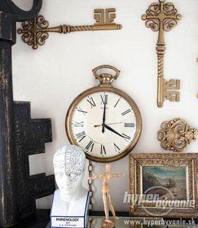 Large Pocket Watch Wall Clock Foter