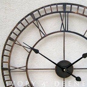 Metal Wall Clocks Large Ideas On Foter